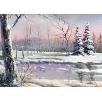 8838 SNOW SCENE